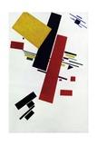 Dynamic Suprematism Giclée-tryk af Kasimir Malevich
