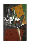 The Sideboard, 1917 Giclee Print by Juan Gris