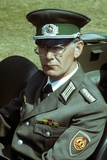 East German GDR Army Officer, Part of a Historical Re-Enactment Photographic Print