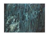 States of Mind: Those Who Stay, 1911 Giclée-trykk av Umberto Boccioni