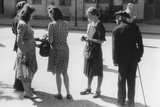 Black Market Transactions in Berlin, 1947 Photographic Print by  German photographer