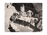 Field Surgery on Gallipoli Peninsula, Turkey, 1915, from 'The War Illustrated Album Deluxe',… Giclee Print by  English School