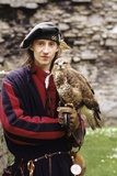 Historical Re-Enactment of Medieval Falconry Photographic Print