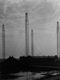 Radio Transmission Towers in Germany, c.1933 Photographic Print by  German photographer