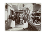 A Pantry at the Hotel Manhattan, 1902 Giclee Print by  Byron Company