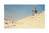 The Desert Warrior, c.1900 Giclee Print by Augustus Osborne Lamplough