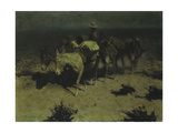 A Pack Train, 1909 Giclee Print by Frederic Remington
