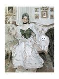Portrait of Yusupova, 1902 Giclee Print by Valentin Aleksandrovich Serov
