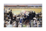 Lords, Eton and Harrow Giclee Print by Septimus Edwin Scott