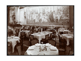 Dining Room at the Hotel Knickerbocker, 1906 Giclee Print by  Byron Company