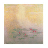 Nympheas, 1908 Giclee Print by Claude Monet