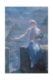 The Valkyrie's Vigil, 1906 Giclee Print by Edward Robert Hughes