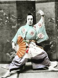 Kabuki Actor, 1901 Photographic Print by  Japanese Photographer