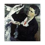 Portrait of Vera Mukhina, 1940 Giclee Print by Mikhail Vasilievich Nesterov