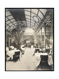 Dining Room at the Hotel Imperial, 1904 Giclee Print by  Byron Company