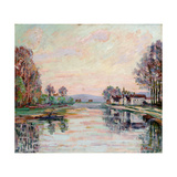 The Seine at Samois, c.1900 Giclee Print by Armand Guillaumin