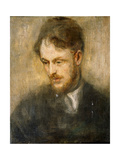 Portrait of Augustus John Giclee Print by Ambrose Mcevoy