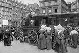 Sisters of St. Vincent de Paul Leaving, Gare de l'Est, Paris, 1914 Photographic Print by Jacques Moreau