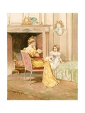 A Story of Olden Times Giclee Print by Edward Percy Moran