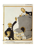 'Me Too, I'm a Socialist', Cartoon from 'L'Assiette Au Beurre', 8 December, 1906 Giclee Print by Edouard Bernard