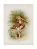 Imogen from Shakespeare's Cymbeline Giclee Print by Frances Brundage