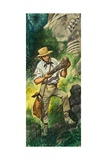 Fossil Hunter Giclee Print by Peter Jackson