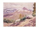 High Sierra, 1921 Gicléetryck av Gunnar Widforss
