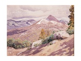 High Sierra, 1921 Giclee Print by Gunnar Widforss