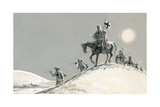 Crusaders Giclee Print by Ron Embleton
