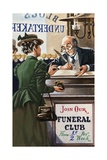 Funeral Club Giclee Print by Peter Jackson