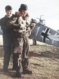 German Luftwaffe Pilot, 1940 Photographic Print by  German photographer