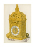 Clock, Presented by Henry VIII to Anne Boleyn, 1533 Giclee Print by Henry Shaw