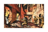 The Defense of Stalingrad During the Second World War Giclee Print by Dan Escott