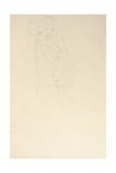 Study for Adele Bloch-Bauer II, 1911 Giclee Print by Gustav Klimt