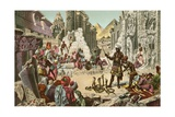 Ancient Egypt and Modern Egypt Contrasted Giclee Print by  North American