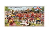 Battle of Plassey Giclee Print by  English School