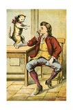 Puss in Boots Giclee Print by  English School