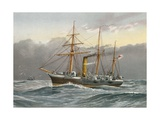 HMS Nymphe (Sloop) Giclee Print by William Frederick Mitchell