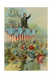 Abraham Lincoln's Second Inauguaral Giclee Print by  North American