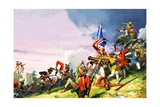 The Battle of Plassey Giclee Print by Severino Baraldi