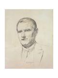 Sean O'Casey, 1926 Giclee Print by Patrick Joseph Tuohy