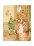 The Minuet Giclee Print by Edward Percy Moran