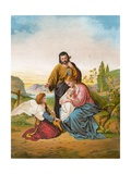 The Holy Family Giclee Print by  English School