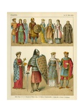 Franks 700-800 AD Giclee Print by Albert Kretschmer