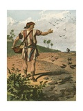 The Sower Giclee Print by  English School