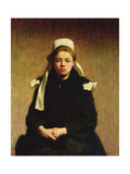 Une Jeune Bretone (A Breton Girl), 1903 Giclee Print by Roderic O'Conor
