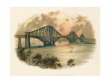 The Forth Bridge, from the South-East Giclee Print by Charles Wilkinson