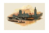The Houses of Parliament Giclee Print by Charles Wilkinson
