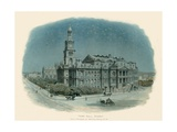 Town Hall, Sydney Giclee Print by Charles Wilkinson