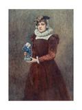 Mary Seton, Companion and Friend of Mary Stuart Giclee Print by Sir James Dromgole Linton